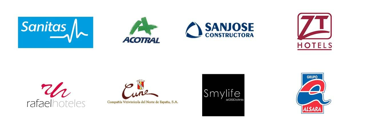 logotipos de clientes summum marketing