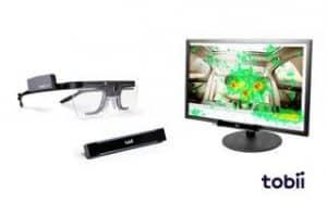 eye tracker para medir los puntos de atención del usuario en estudios de neuromarketing