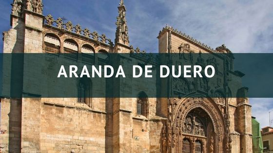 Santa María, en Aranda de Duero, junto a las oficinas de nuestra agencia, Summum Marketing