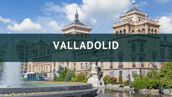 imagen del palacio de caballeria de Valladolid, al lado de las oficinas de Summum Marketing