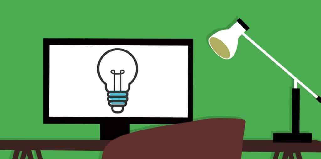 diseño de mesa de creatividad freelance