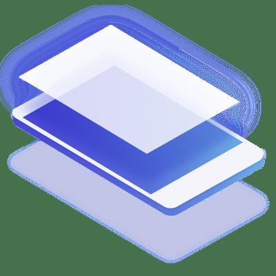 web con una app abierta